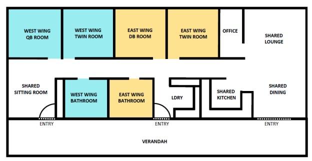 Respite House Floor Plan